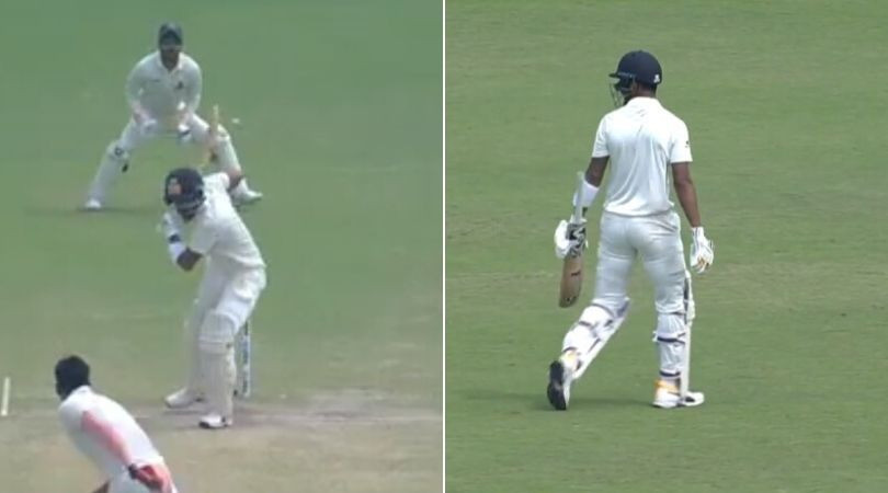 WATCH: KL Rahul denied review after getting out to Ishan Porel in Bengal vs Karnataka Ranji semi-final