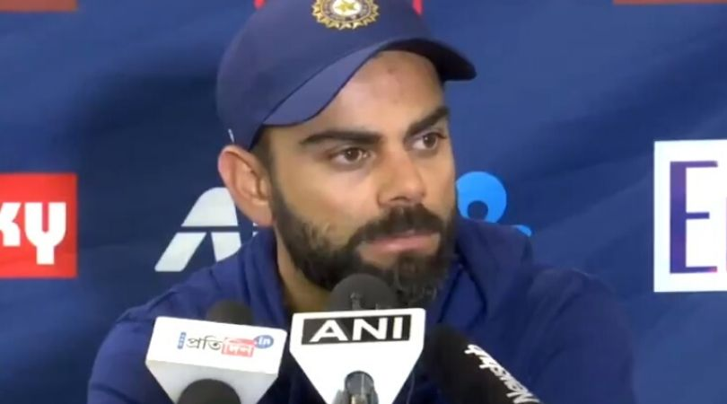 """""""Come with a better question"""": Watch Virat Kohli slams journalist who asks about send-off to Kane Williamson"""