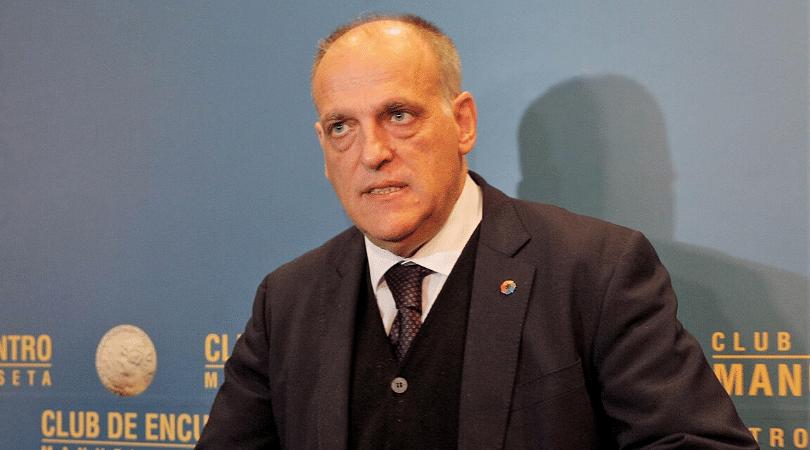 La Liga president sends Premier League warning over UEFA deadline