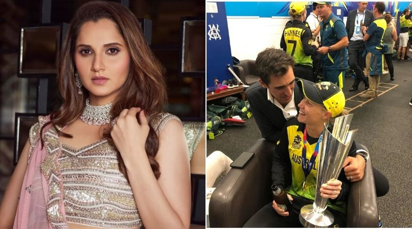 Sania Mirza lauds Mitchell Starc for watching Alyssa Healy's T20 World Cup final; takes a dig at subcontinent mentality
