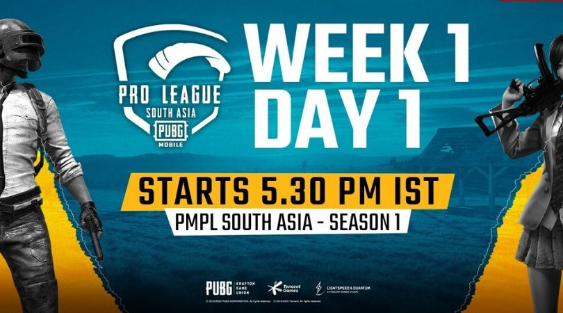 PMPL South Asia Schedule, Live Streaming, Teams, Format and Live Standings | PUBG Mobile Pro league 2020 India Schedule