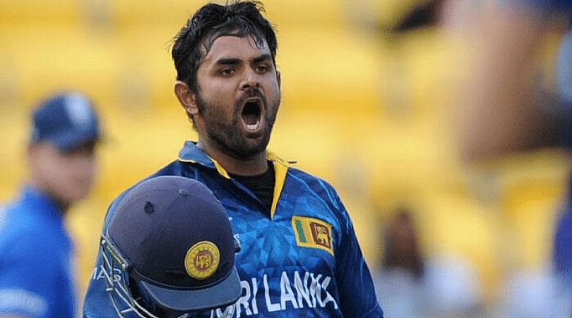 Shehan Jayasuriya produces a stunning catch during Sri Lanka vs West Indies 2nd T20I