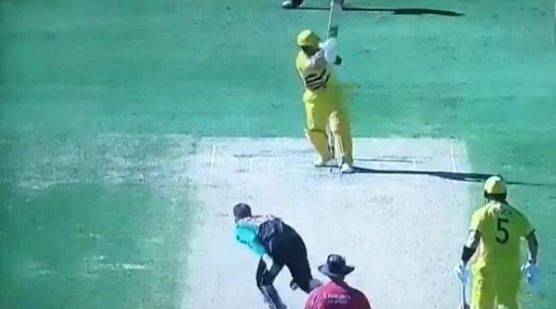 WATCH: Steve Smith plays sublime flick off Lockie Ferguson in Sydney ODI