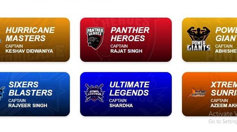 T10 Super League 2020 All Team Captains