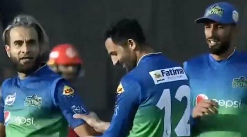 WATCH: Imran Tahir gives aggressive send-off to Shadab Khan in PSL 2020
