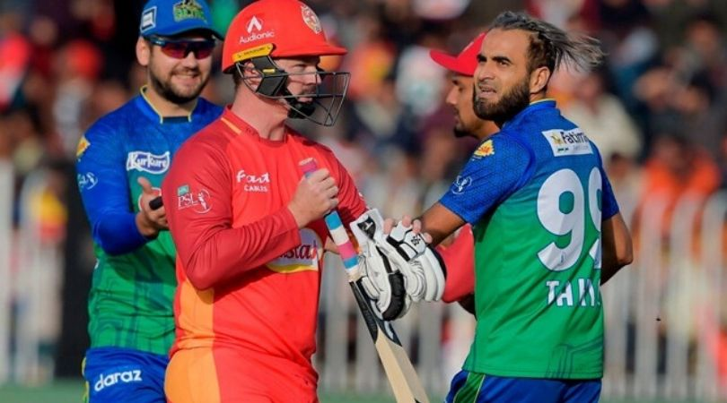 Imran Tahir celebrates Munro's wicket ferociously; irks him on the way back