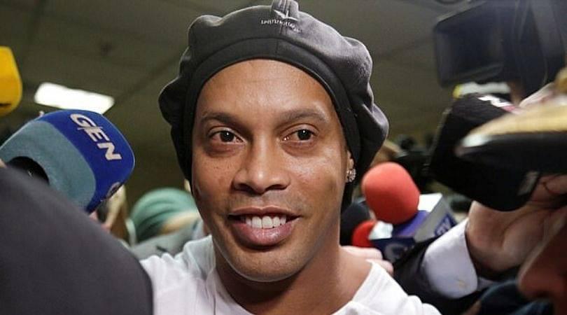 Ronaldinho wins six-a-side football tournament in Paraguayan prison; scores 5 goals