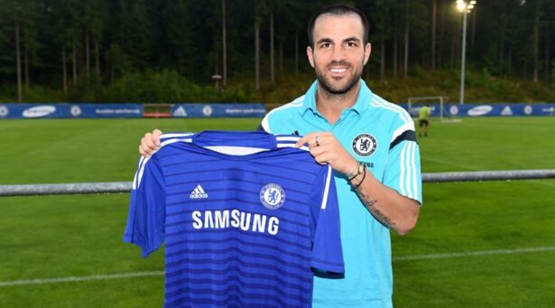 Cesc Fabregas reveals why he opted Chelsea over Manchester United and City