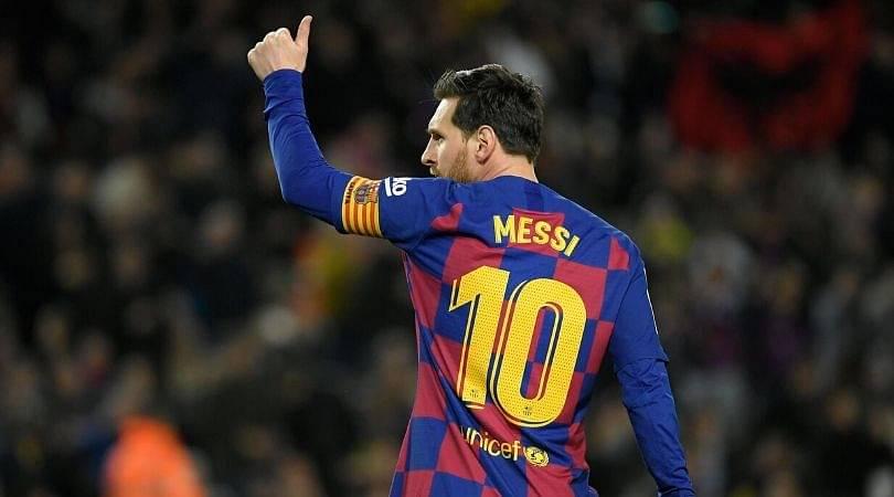 Barcelona uploads compilation video of Lionel Messi's greatest ever assists