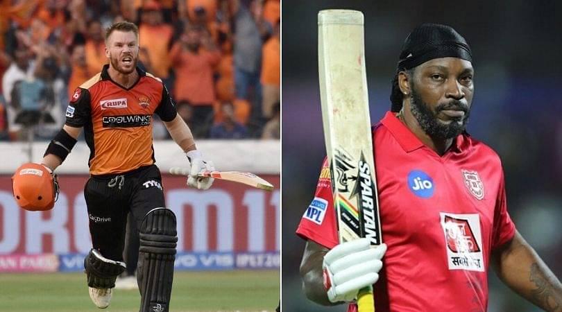SRH troll Kings XI Punjab over Chris Gayle vs David Warner debate