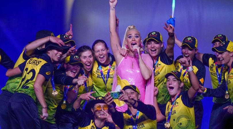WATCH: Australia Women's team celebrate jubilantly with Katy Perry after winning ICC Women's T20 World Cup 2020