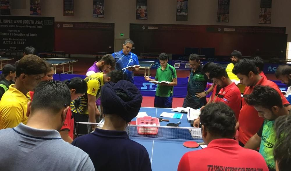 Born To Play to organise a High-Performance Table Tennis Camp with Mr Harpeet Singh Bamrah