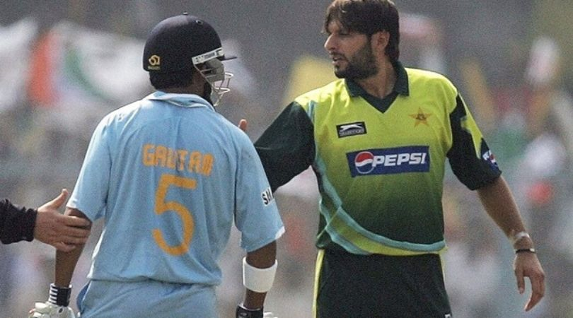 """Someone who doesn't remember his age how will he remember my records"" Gautam Gambhir slams Shahid Afridi"
