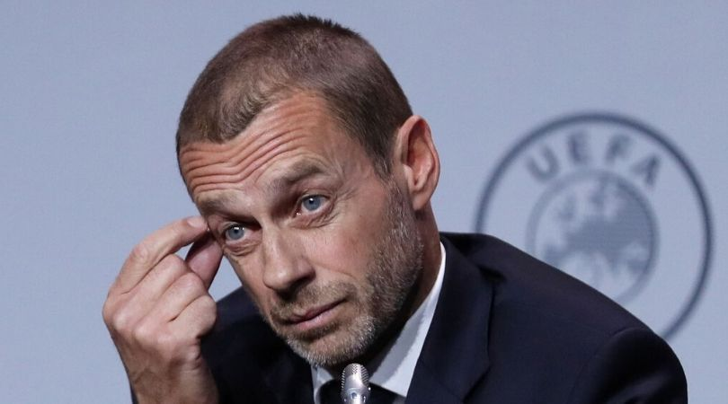 UEFA President comments on when Football will return amidst Coronavirus threat
