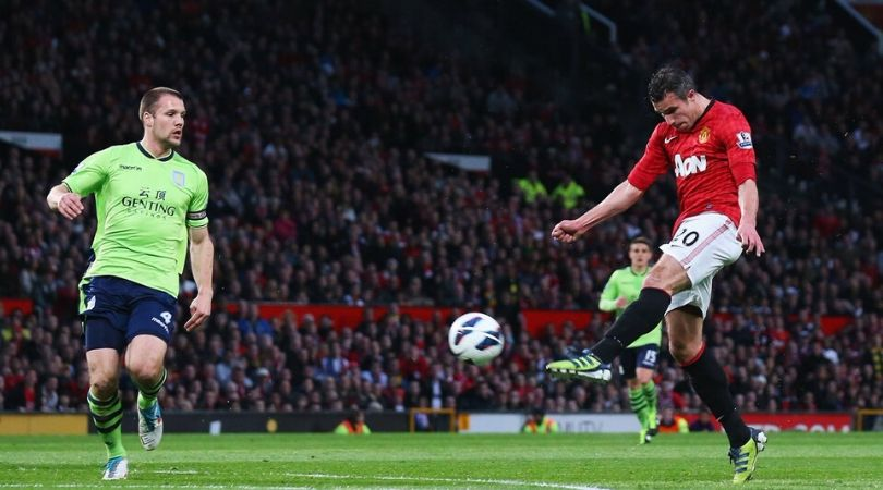 On This Day: Robin Van Persie scored hattrick to seal Manchester United's 20th title