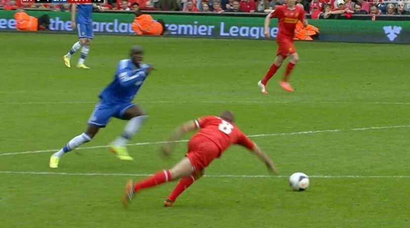 On This Day: 6 years ago Steven Gerrard made an atrocious mistake to lose what he never won