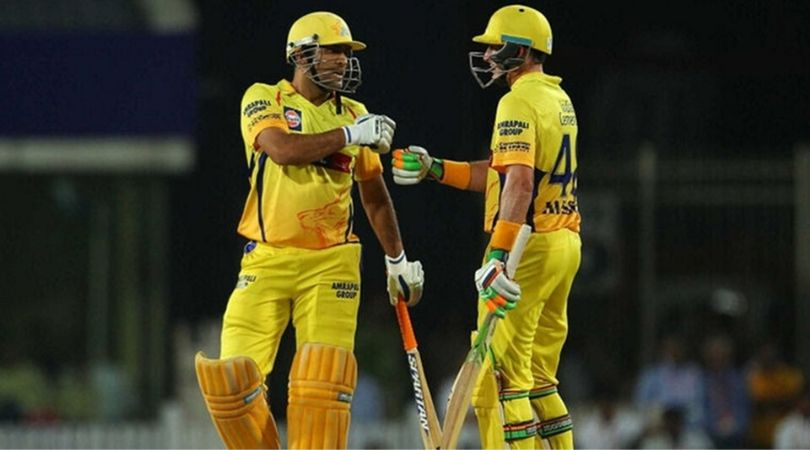 CSK Batting Coach Michael Hussey endorses MS Dhoni fit to play for India