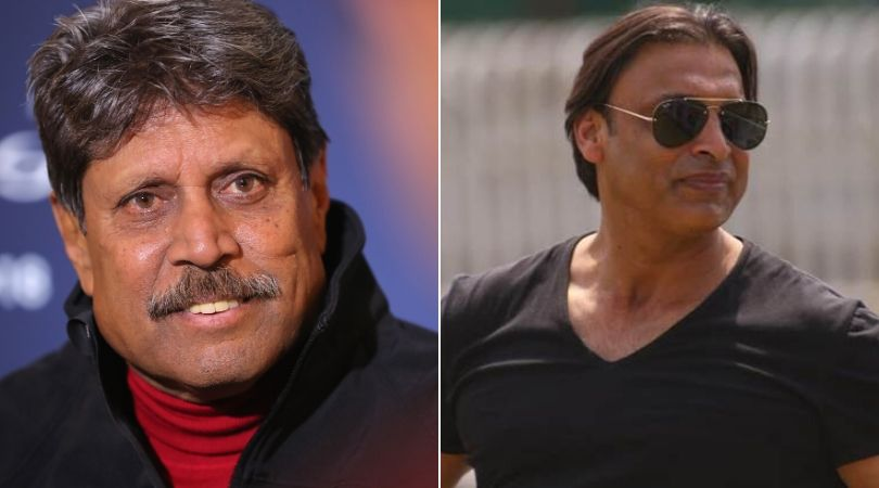Kapil Dev speaks against Shoaib Akhtar's India-Pakistan series proposal to raise funds for COVID-19 pandemic