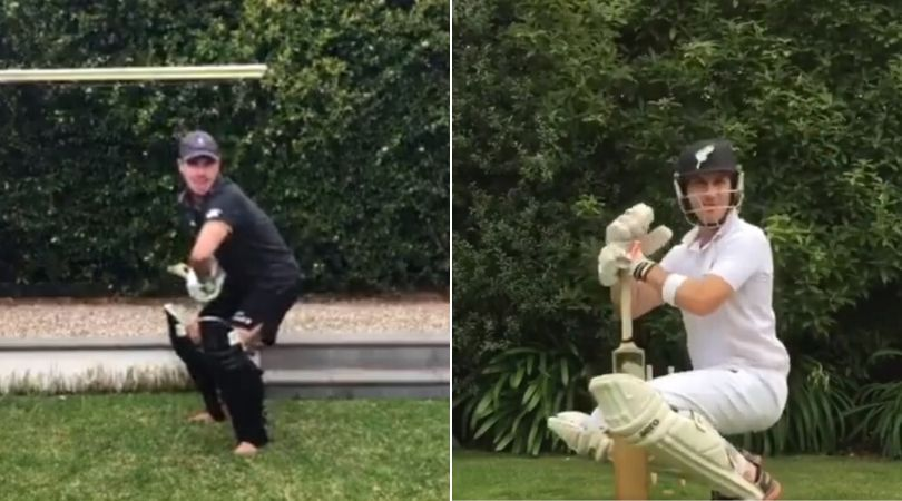 WATCH: Fan emulates Ross Taylor and Brendon McCullum on Twitter; McCullum reacts on trending videos