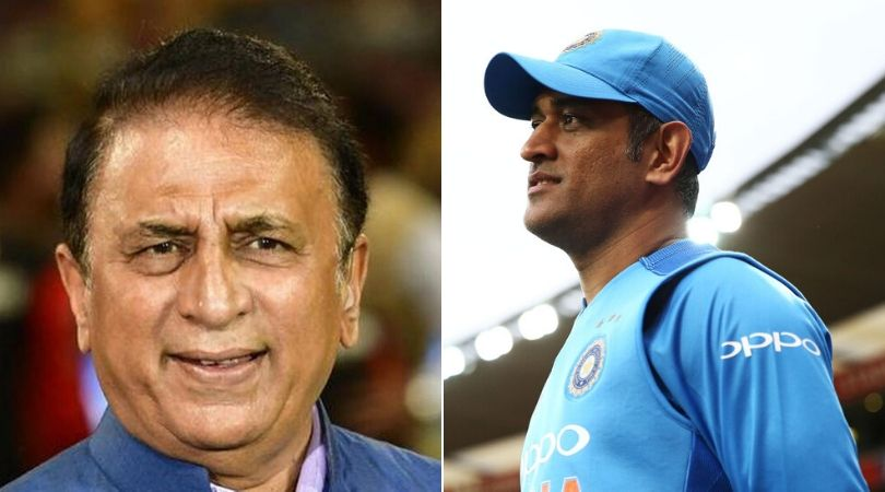 Sunil Gavaskar reveals how MS Dhoni used to travel in economy class during home series
