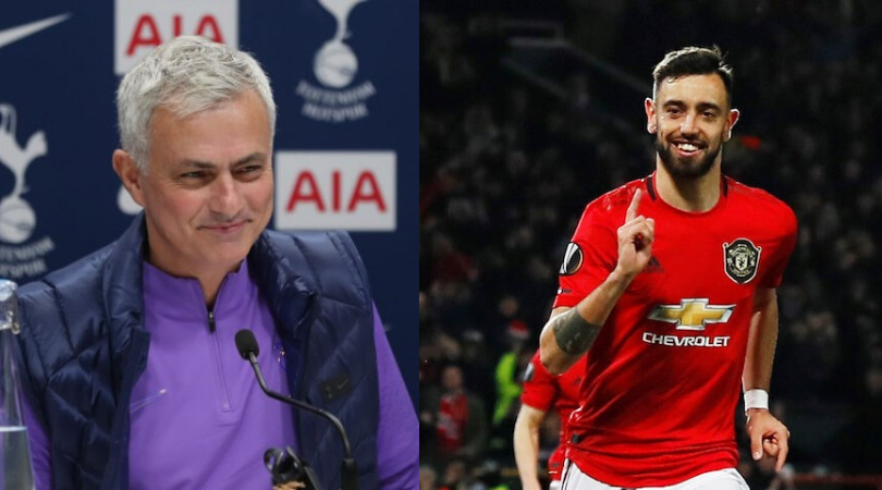 How Jose Mourinho helped Bruno Fernandes hit the ground running at Manchester United