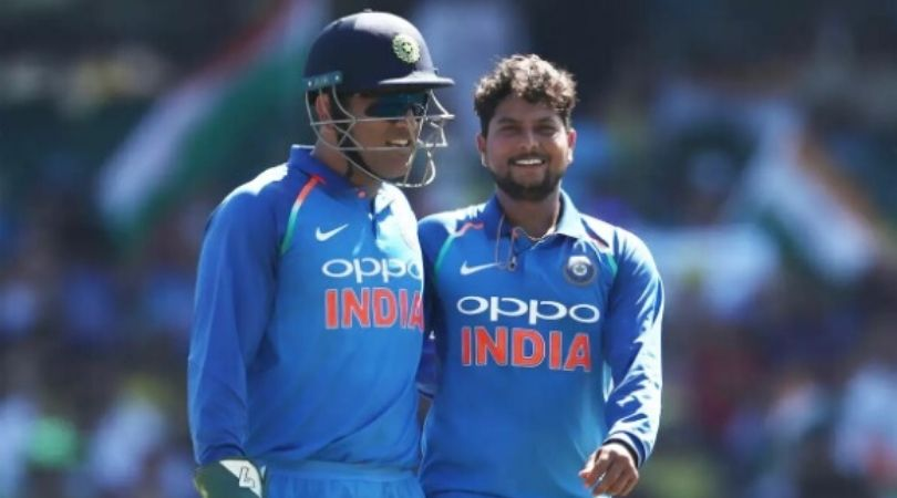 Kuldeep Yadav remembers angry MS Dhoni's reaction during T20I vs Sri Lanka in Indore