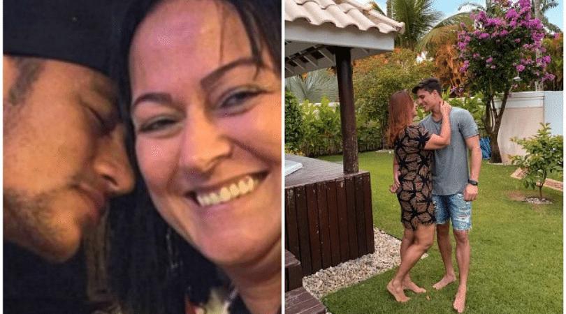 Neymar's mother dumps boyfriend after discovering he dated men before