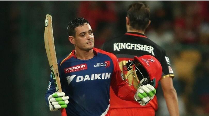 On This Day: Quinton de Kock scored maiden IPL century vs RCB in Bengaluru