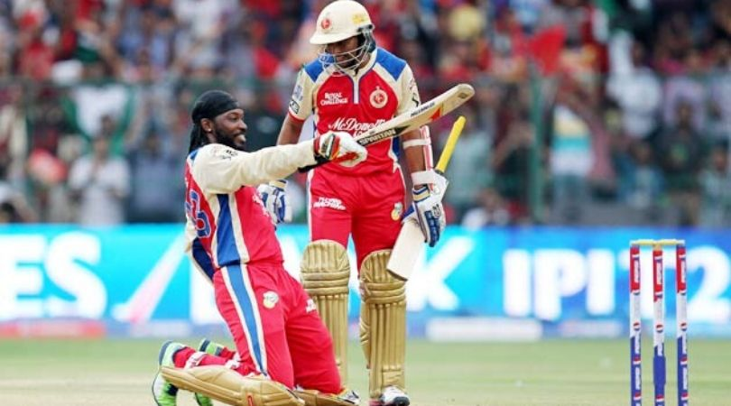 On This Day: RCB's Chris Gayle scored career-best 175* vs PWI