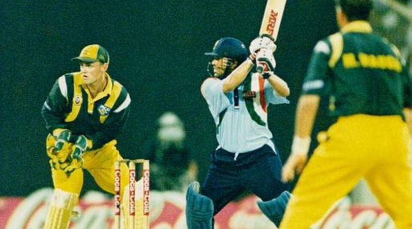 On This Day: Sachin Tendulkar smashed 14th ODI century vs Australia in Sharjah