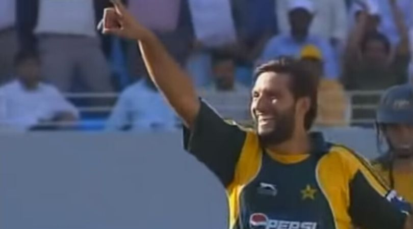 On This Day: Shahid Afridi picks third ODI five-wicket haul and the then career-best figures vs Australia in Dubai