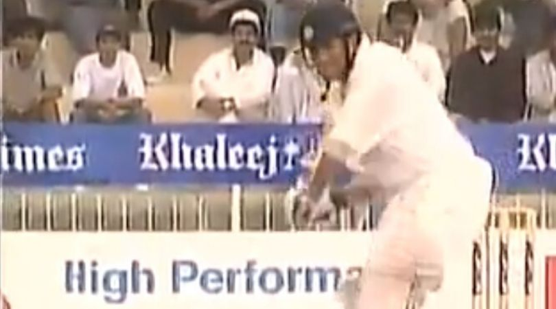 On This Day: Sachin Tendulkar scored eighth ODI century vs Pakistan in Sharjah