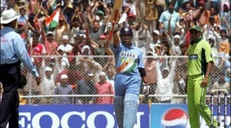 On This Day: Sachin Tendulkar scored his 38th ODI century vs Pakistan in Ahmedabad