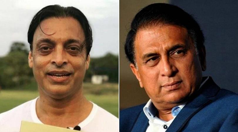 "Shoaib Akhtar thanks Sunil Gavaskar for ""sense of humour"" comment"