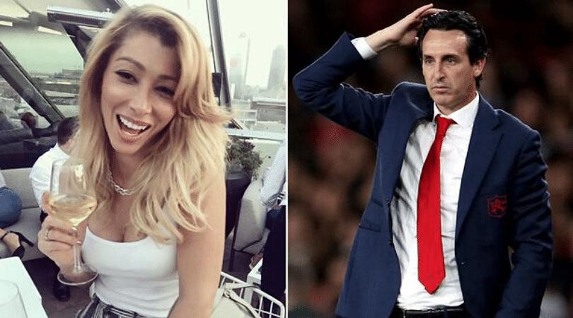 Unai Emery blamed ex-girlfriend for losing Arsenal Job
