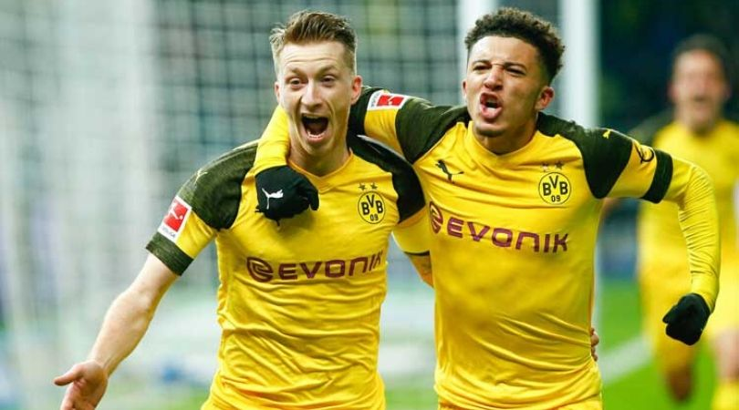 Jadon Sancho Transfer News: Marco Reus advices his teammate on a potential transfer to Chelsea or Manchester United