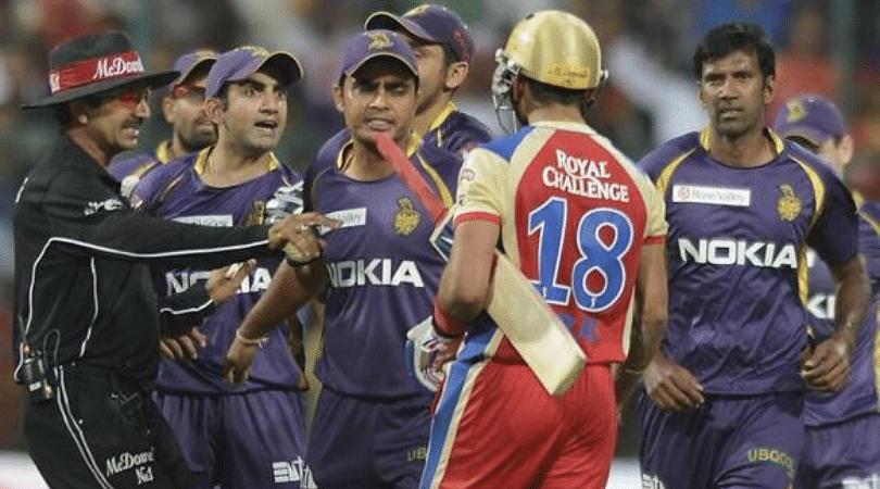 Virat Kohli and Gautam Gambhir fight: What really happened between the two Delhi Batsmen during IPL 2013? | The SportsRush
