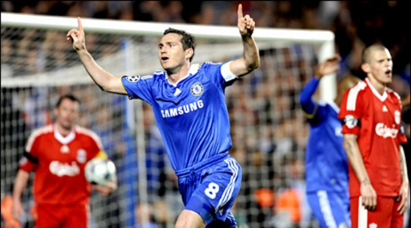 On This Day: 12 years ago Frank Lampard scored an emotional goal against Liverpool In Champions League