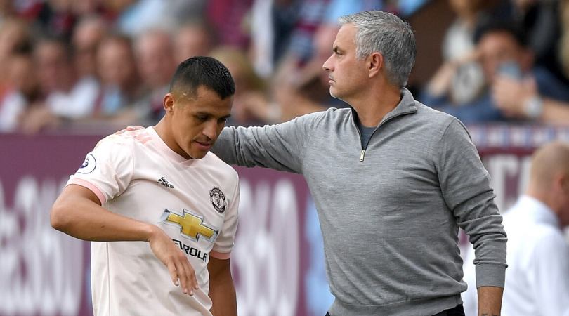 Alexis Sanchez blames Jose Mourinho for shattering his confidence