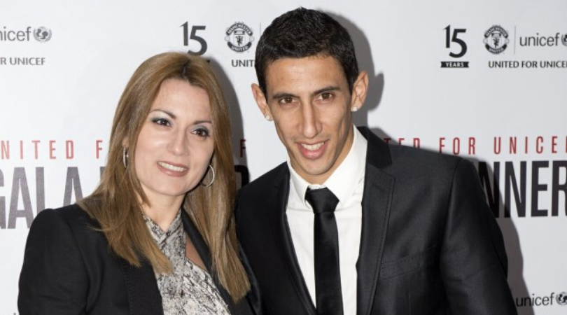Angel Di Maria's wife reveals she did not want to move to Man Utd before calling England a 'Shthole'