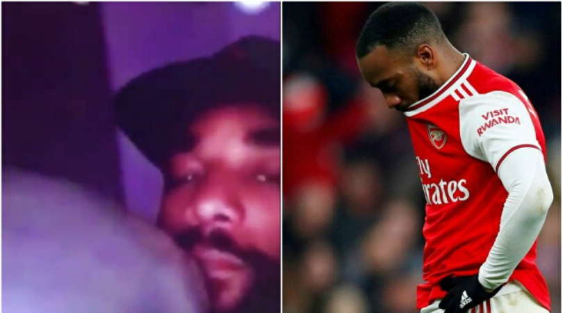 Arsenal release statement after video of Alexandre Lacazette inhaling balloon emerges
