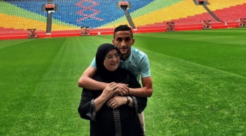 Chelsea bound Hakim Ziyech reduced to tears by his mother's message during Ajax farewell