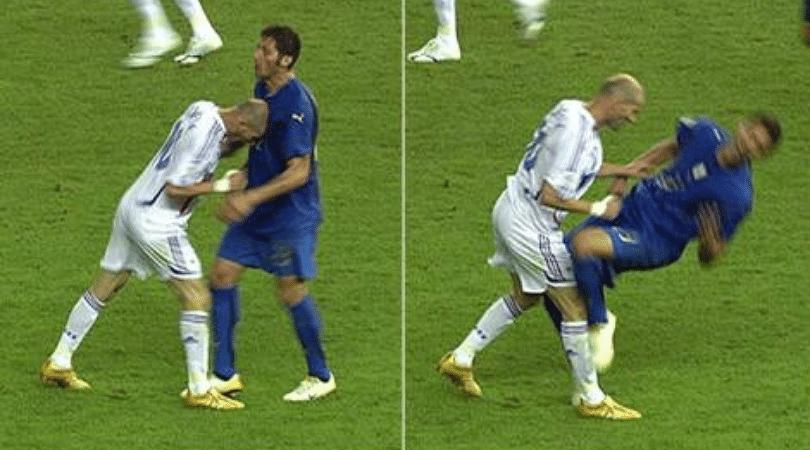 Marco Materazzi reveals what he told Zinedine Zidane