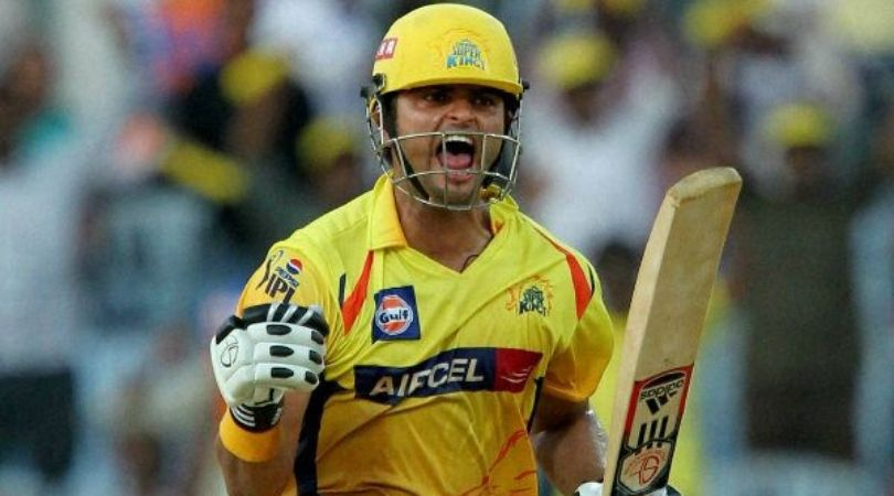 On This Day: CSK's Suresh Raina scored maiden IPL century vs KXIP in Chennai