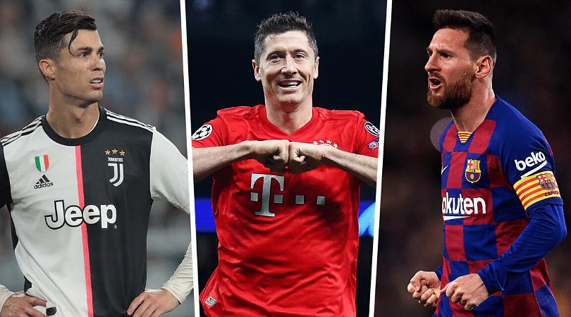Robert Lewandowski joins Cristiano Ronaldo and Lionel Messi in exclusive list with goal vs Union Berlin