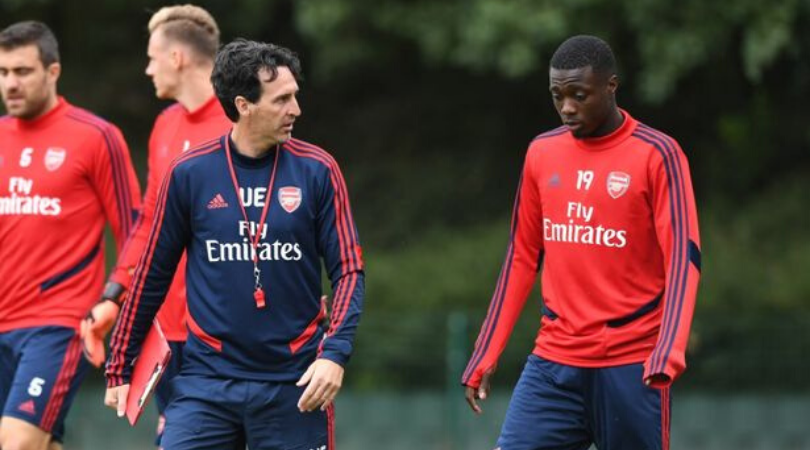 Unai Emery reveals that he did not want to sign Nicolas Pepe