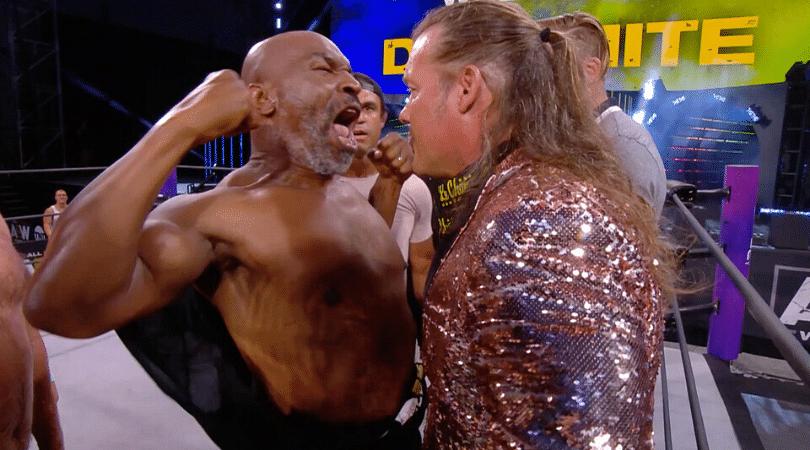 Watch Mike Tyson brawls with Chris Jericho on AEW Dynamite
