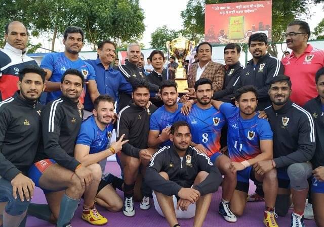 Indian Railways Celebrated Double Triumph at the Senior National Kabaddi Championship