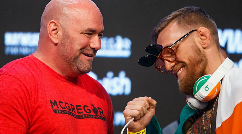 """""""We never even asked Conor to fight"""" – Dana White sounds off on media for muddying Conor McGregor situation"""