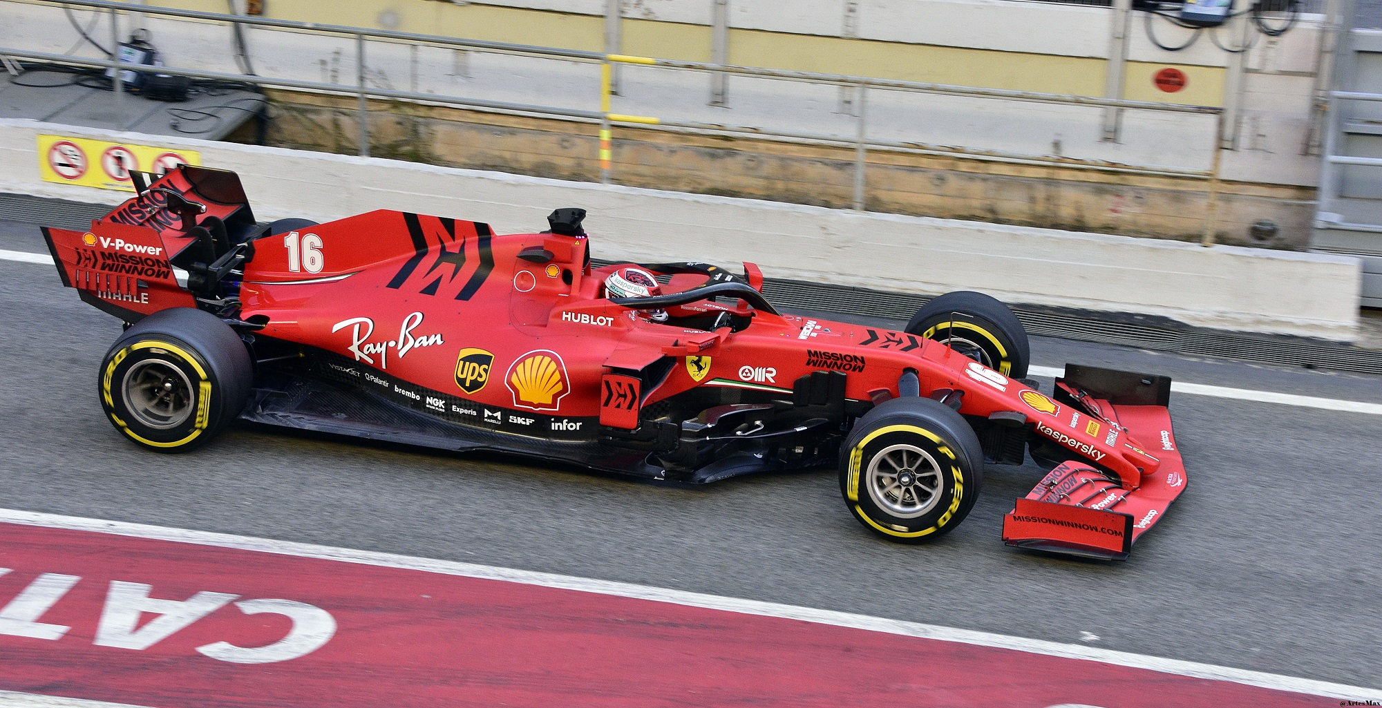 Ferrari Second Team To Test Its 2020 Car Ahead Of F1 Season Starter At Austria The Sportsrush